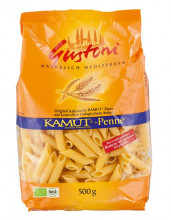 Gustoni, Kamut Penne, bronze, 500g Packung