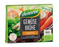 dennree, Gemüsebrühe hefefrei, 60g Packung