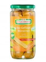 Königshofer, Geflügelwürstchen, 6 Stück, 400g Glas