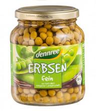 dennree, Erbsen fein, 350g Glas