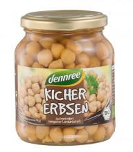 dennree, Kichererbsen, 350g Glas