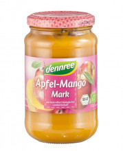 dennree, Apfel-Mangomark, 360g Glas
