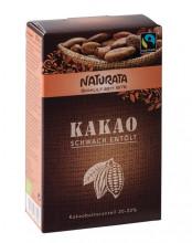 Naturata, Kakaopulver, schwach entölt, 125g Packung