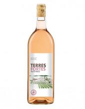 Terres Fortes Rosé Vin de Pays 2018, incl. 0,25 € Pfand, MEHRWEG, 1l Flasche