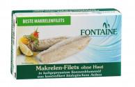 Fontaine, Makrelenfilets ohne Haut, 120g Dose (85g)