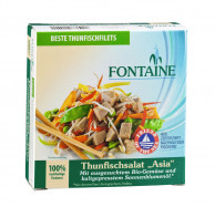 Fontaine, Thunfischsalat Asia, 200g Dose (50g)