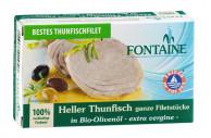 Fontaine, Heller Thunfisch, in Bio-Olivenöl, 120g Dose (85g)