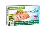 Fontaine, Thunfisch-Filet Echter Bonito, Naturell in eigenem Saft, 120g Dose