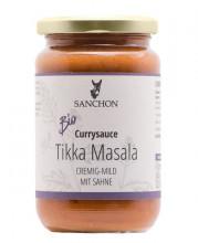 Sanchon, Tikka Masala - Indische Fertigsauce, mild, mit Sahne, 340g Glas
