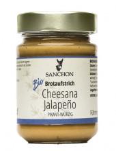 Sanchon, Cheesana Jalapeno, 170g Glas