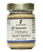 Sanchon, Cheesana Rauch-Zwiebel, 170g Glas
