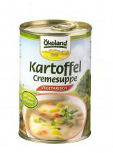 Ökoland, Kartoffel-Cremesuppe, hefefrei, vegetarisch, 400ml Dose