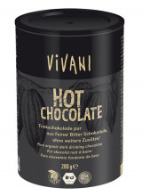 Vivani, Bio Genuss, Hot Chocolate, pur, 280g Dose