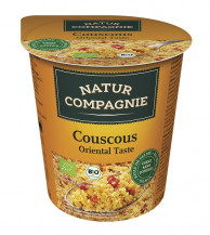 Natur Compagnie, Couscous Oriental Taste, 68g Becher
