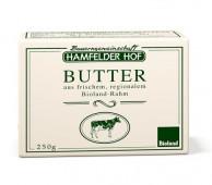 Hamfelder Hof, Butter aus frischem Rahm (Faßbutter), Bioland, 250g Packung
