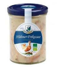Kiebitzhof, Hühner-Frikassee, 400g Glas