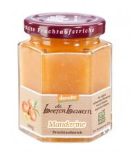 die beerenbauern, Mandarine Fruchtaufstrich, demeter-Qualität, 200g Glas