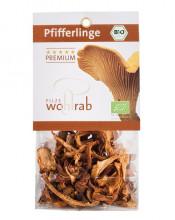 Pilze Wohlrab, Trockenpilze Pfifferlinge, 20g Packung