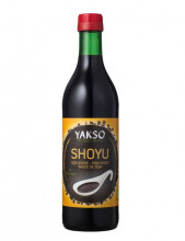 Yaksoo, Sojasauce Shoyu, 500ml Flasche