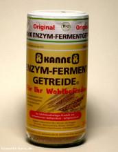 Kanne, Enzym-Ferment-Getreide, 250g Glas