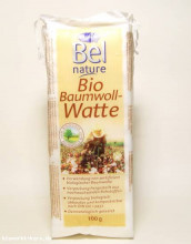 Bel Nature, Baumwollwatte, 100g Packung
