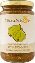 Fattoria Sicilsole, Feigenkonfitüre extra, 370g Glas