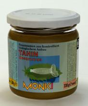 Monki, Tahin ohne Salz, 330g Glas