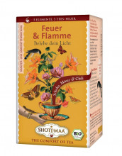 Shoti Maa, Feuer & Flamme - Schoko, Minze & Chili, 2g, 16Btl Packung