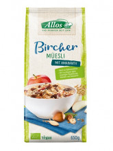 Allos, Bircher Müsli, 650g Packung