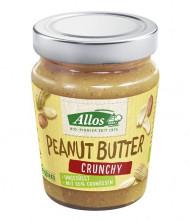 Allos, Peanut Butter Crunchy, 227g Glas