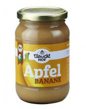 Bauckhof, Apfel-Bananenmark, 360g Glas