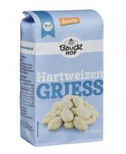 Bauckhof, Hartweizengrieß, demeter, 500g Packung