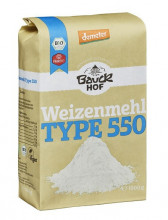 Bauckhof, Weizenmehl Type 550, demeter, 1kg Packung