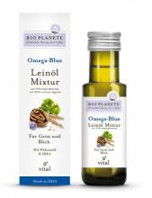 Bio Planéte, Omega-Blue, Leinöl Mixtur, 0,1l Flasche