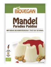Biovegan, Mandel Paradies Pudding, 49g Packung