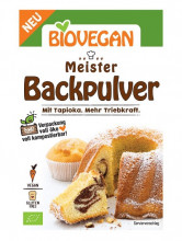 Biovegan, Meister Backpulver, 3x17g Packung