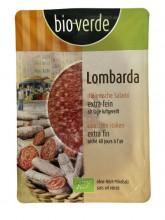 bio verde, Salami Lombarda, 80g Packung