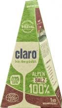 Claro, 100% Alpensalz für die Spülmaschine, 1 kg Packung