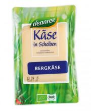 dennree, Bergkäse in Scheiben, lactosefrei, mind. 50% Fett i. Tr., 150g Packung