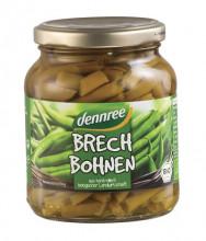 dennree, Brechbohnen, 340g Glas