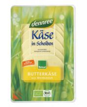 dennree, Butterkäse in Scheiben, lactosefrei, mind. 45% Fett i. Tr., 150g Packung