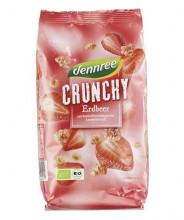 dennree, Erdbeer-Crunchy, 375g Packung