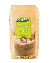 dennree, Dinkelvollkornmehl, 1kg Packung #