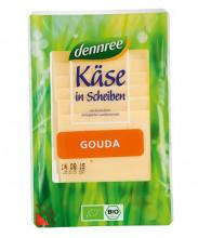 dennree, Gouda in Scheiben, lactosefrei, mind. 48% Fett i. Tr., 150g Packung