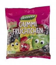 dennree, Gummi-Früchtchen, mit bio-Gelatine, 400g Packung