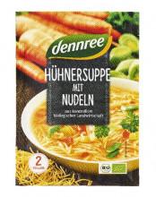 dennree, Hühnersuppe mit Nudeln, 40g Beutel