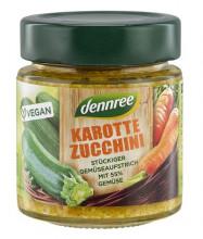 dennree, Karotte Zucchini, 120g Glas