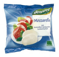 dennree, Mozzarella, 125g Beutel