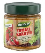 dennree, Tomate Kräuter, 120g Glas