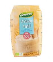 dennree, Weizenmehl Typ 550, 1kg Packung